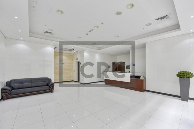 furnished business center for rent in deira, airport road building   3