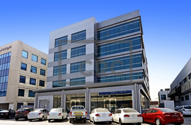 furnished business center for rent in deira, airport road building   5