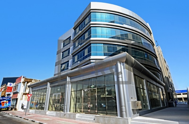 furnished business center for rent in deira, airport road building   9