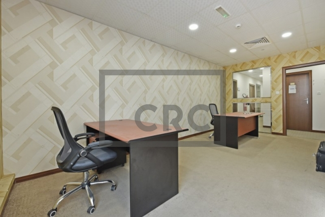 200 sq.ft. Business Center in Al Garhoud, Airport Road Area for AED 25,000