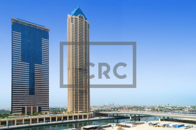 semi-furnished office for rent in business bay, churchill executive tower | 15