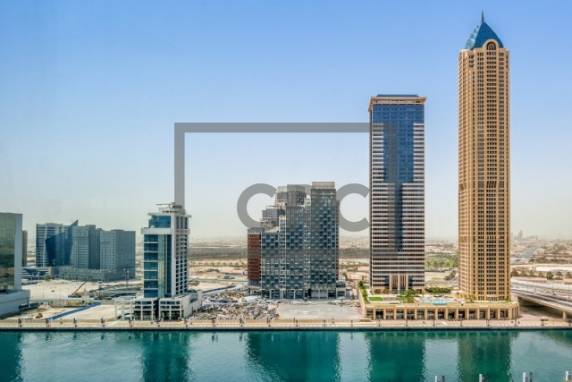 semi-furnished office for rent in business bay, churchill executive tower | 16