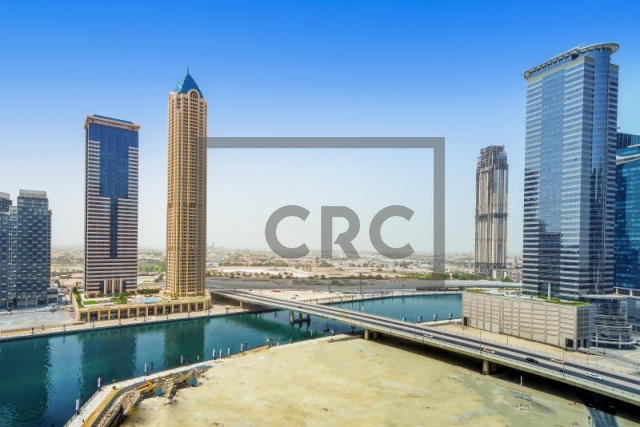 semi-furnished office for rent in business bay, churchill executive tower | 17