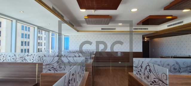 semi-furnished office for rent in business bay, churchill executive tower | 4