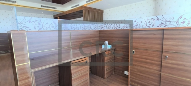semi-furnished office for rent in business bay, churchill executive tower | 5