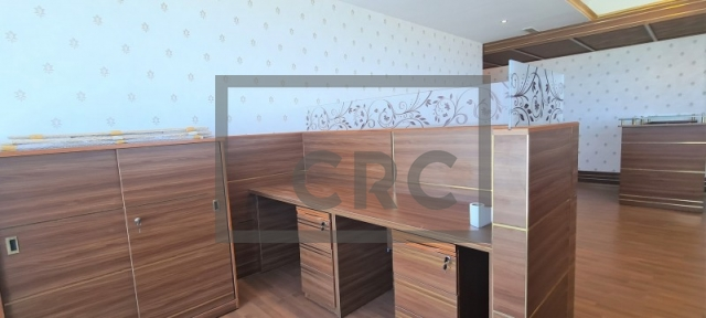 semi-furnished office for rent in business bay, churchill executive tower | 7