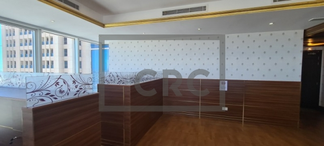 semi-furnished office for rent in business bay, churchill executive tower | 3
