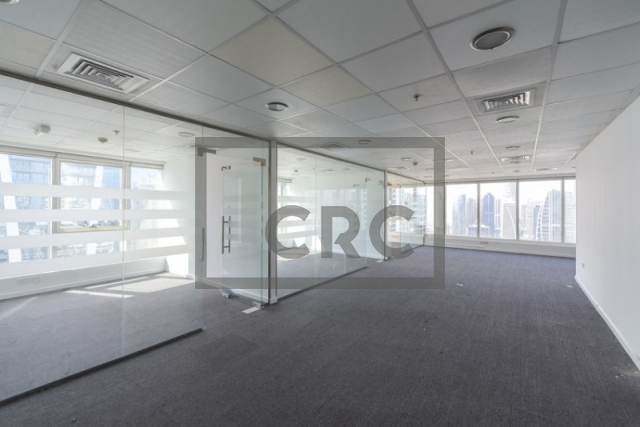 1,570 sq.ft. Office in Jumeirah Lake Towers, One Lake Plaza for AED 95,000