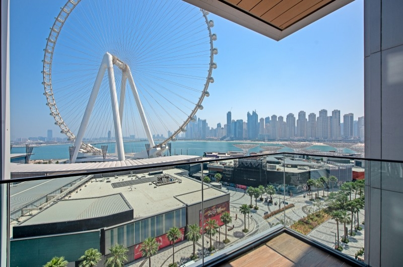 Bluewaters Residences, Bluewaters Island