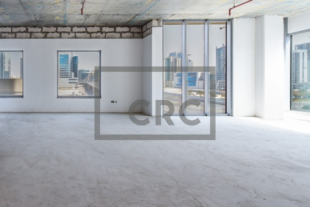 shell & core office for sale in business bay, sobha ivory tower 1 | 1