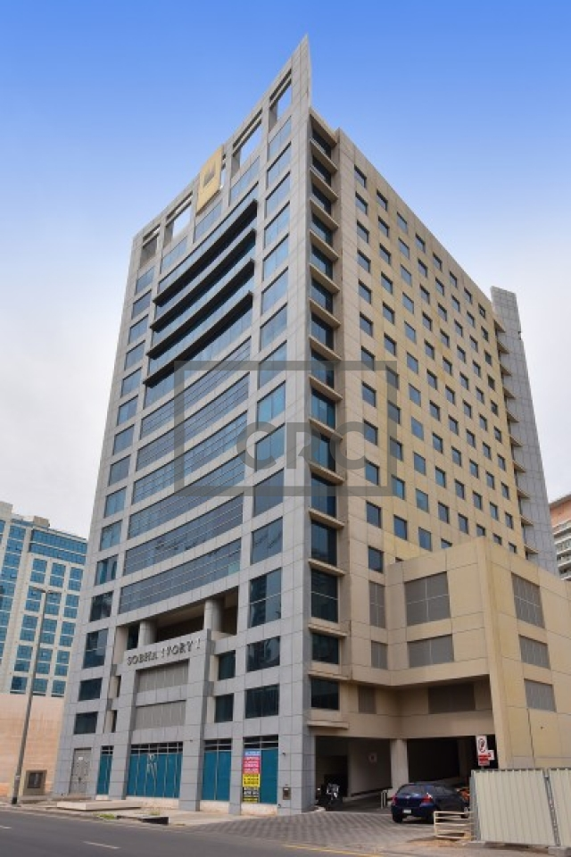 shell & core office for sale in business bay, sobha ivory tower 1 | 10