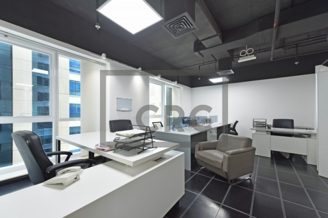 partitioned and furnished office for sale in sheikh zayed road, latifa tower | 3