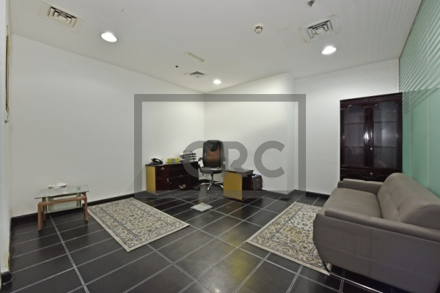 partitioned and furnished office for sale in sheikh zayed road, latifa tower | 4