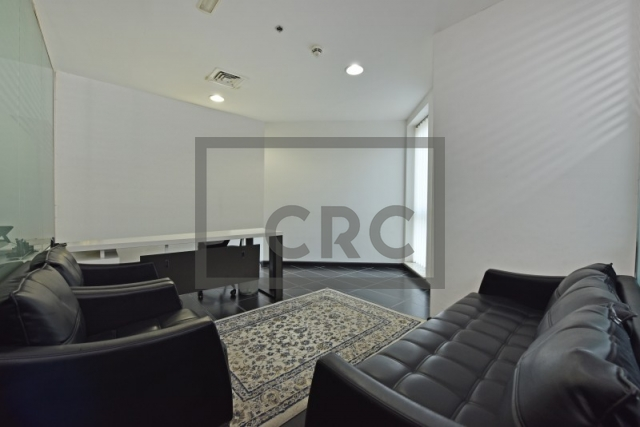partitioned and furnished office for sale in sheikh zayed road, latifa tower | 6
