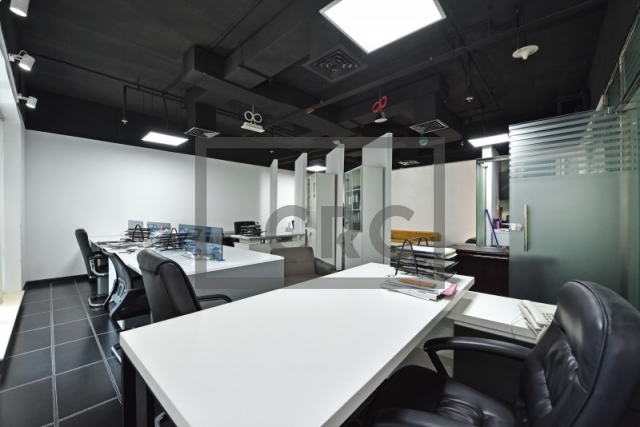 partitioned and furnished office for sale in sheikh zayed road, latifa tower | 8