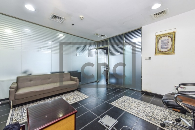 partitioned and furnished office for sale in sheikh zayed road, latifa tower | 9