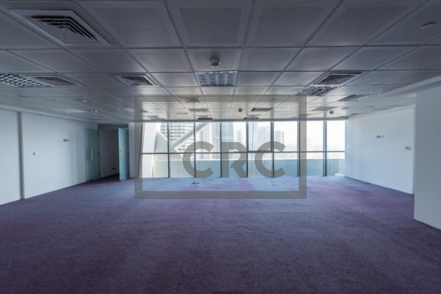semi-furnished office for sale in jumeirah lake towers, indigo icon | 1