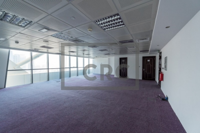 semi-furnished office for sale in jumeirah lake towers, indigo icon | 3
