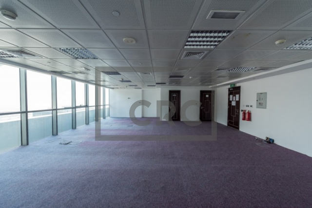semi-furnished office for sale in jumeirah lake towers, indigo icon | 8