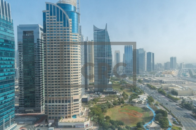 semi-furnished office for sale in jumeirah lake towers, indigo icon | 14