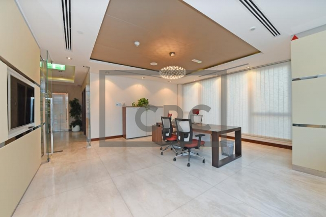 office for sale in business bay, churchill executive tower | 1