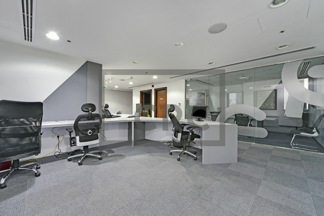 fitted, partitioned and furnished office for sale in business bay, executive tower d(aspect)   2
