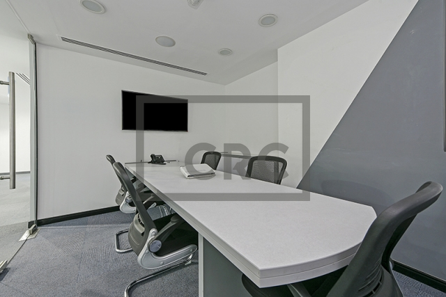 fitted, partitioned and furnished office for sale in business bay, executive tower d(aspect)   3