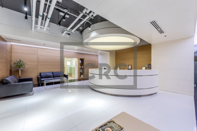 furnished office for sale in business bay, vision tower | 1