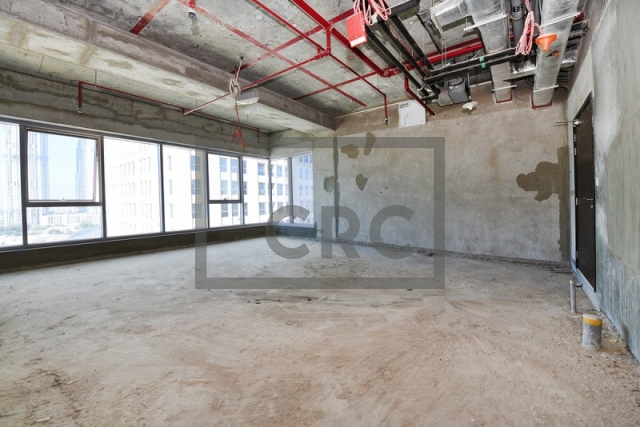 shell & core office for sale in business bay, churchill executive tower | 2