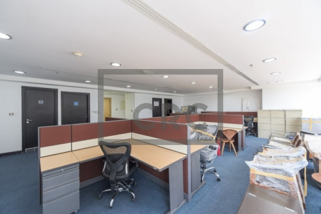 1,076 sq.ft. Office in Jumeirah Lake Towers, Jumeirah Business Centre 5 for AED 888,030