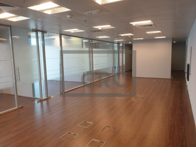 fitted and partitioned office for sale in business bay, one business bay | 2