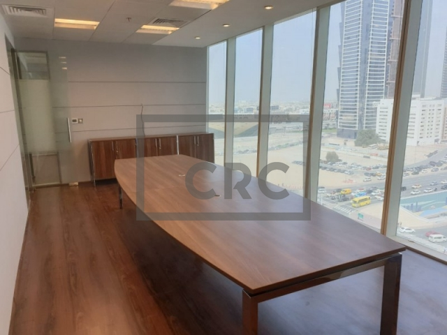 fitted and partitioned office for sale in business bay, one business bay | 14