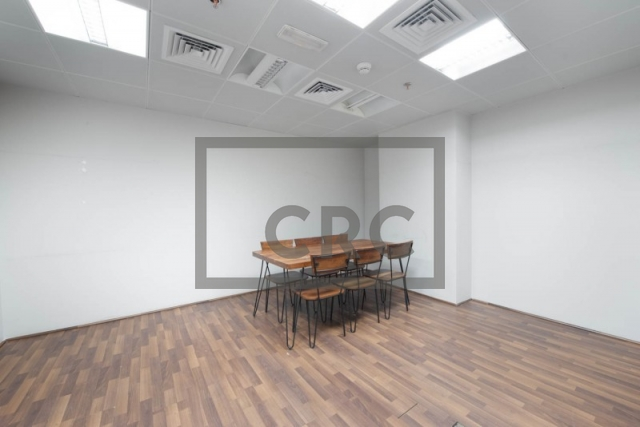 fitted and partitioned office for sale in business bay, one business bay | 12