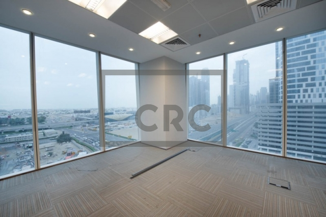 fitted and partitioned office for sale in business bay, one business bay | 6