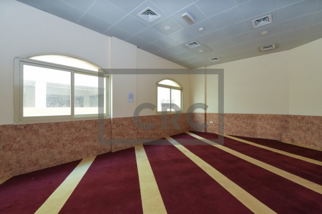 partitioned and semi-furnished labour camp for sale in muhaisnah, muhaisnah 2 | 6