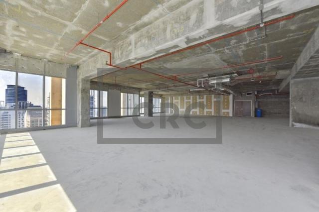 3,729 sq.ft. Office in Dubai Marina, Marina Plaza for AED 4,845,000