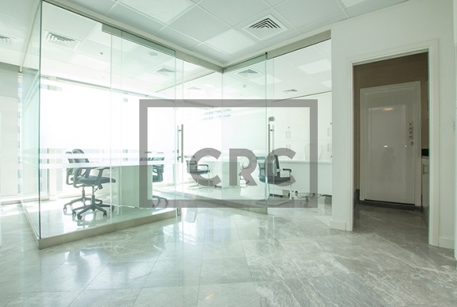 726 sq.ft. Office in Business Bay, The Binary Tower for AED 900,000