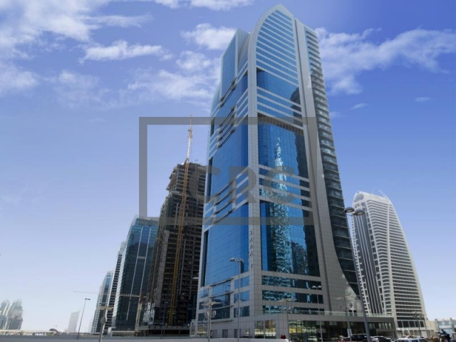 2,484 sq.ft. Office in Jumeirah Lake Towers, Saba 1 for AED 2,400,000