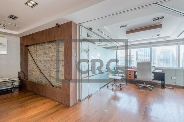 furnished office for sale in jumeirah lake towers, hds tower | 9