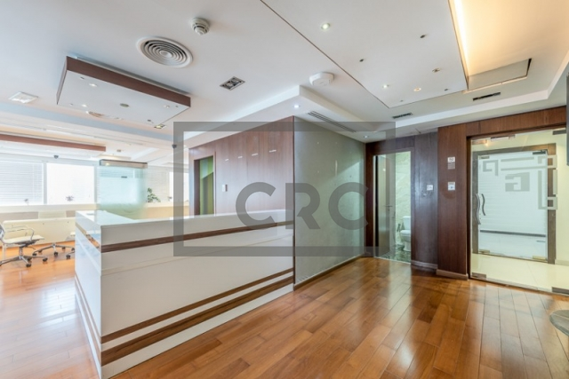 furnished office for sale in jumeirah lake towers, hds tower | 5