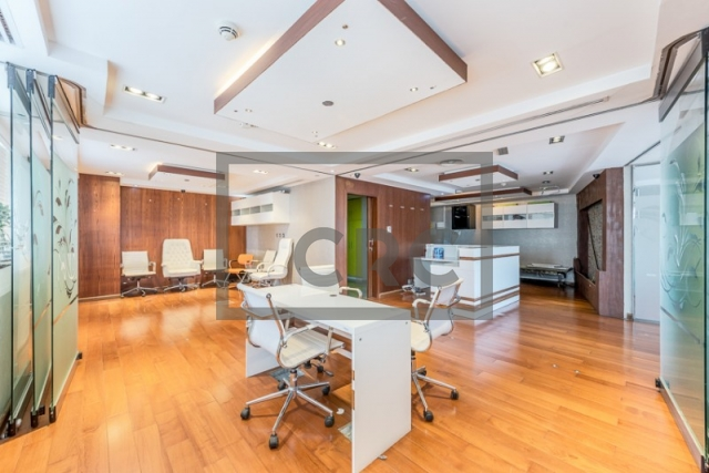 1,258 sq.ft. Office in Jumeirah Lake Towers, Hds Tower for AED 1,080,000