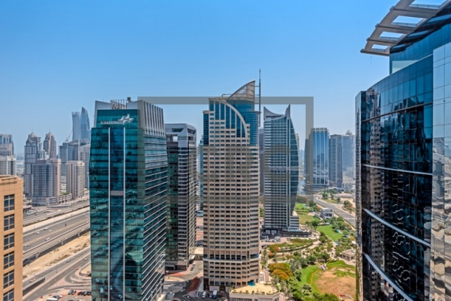 furnished office for sale in jumeirah lake towers, hds tower | 14