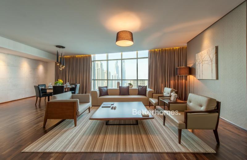 2 Bedroom Hotel Apartment For Rent in  Intercontinental Dubai Marina,  Dubai Marina   3