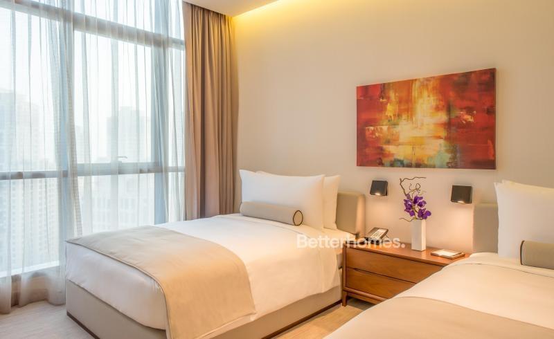 2 Bedroom Hotel Apartment For Rent in  Intercontinental Dubai Marina,  Dubai Marina   5