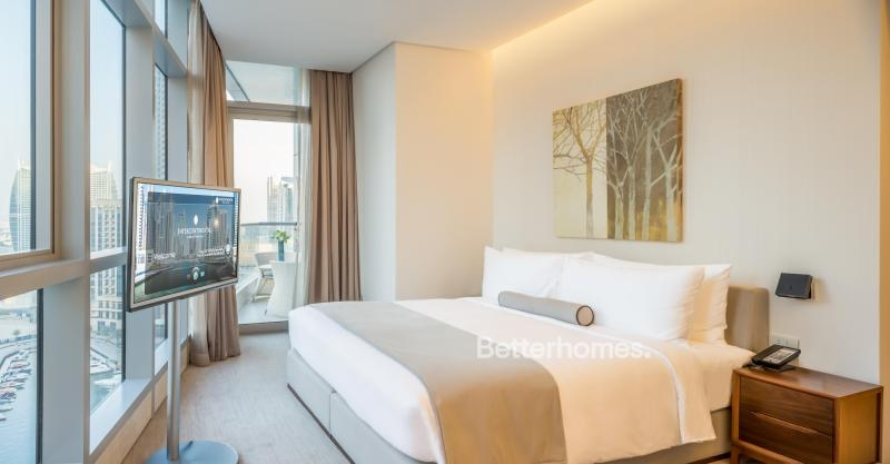 2 Bedroom Hotel Apartment For Rent in  Intercontinental Dubai Marina,  Dubai Marina   0