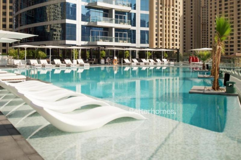 2 Bedroom Hotel Apartment For Rent in  Intercontinental Dubai Marina,  Dubai Marina   11