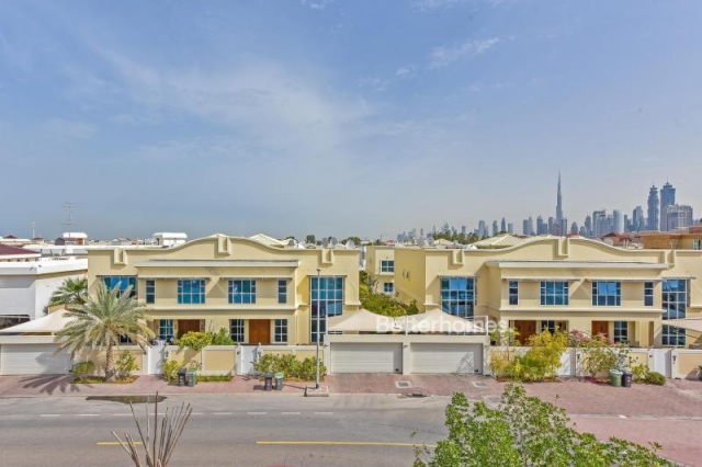 partitioned and furnished commercial villa for sale in jumeirah, jumeirah 3 | 3