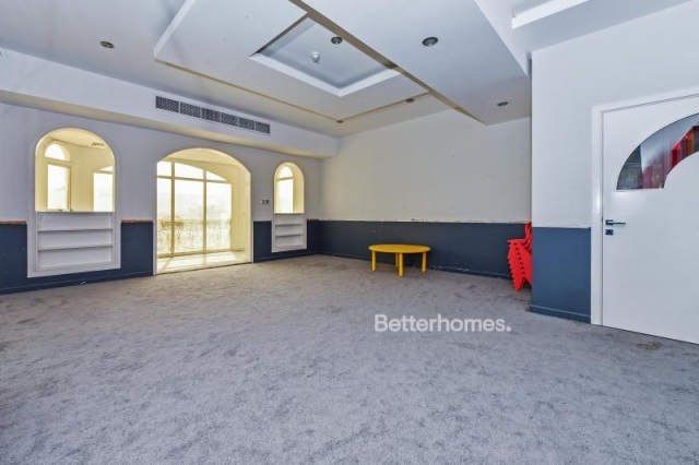 partitioned and furnished commercial villa for sale in jumeirah, jumeirah 3 | 7