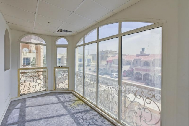 partitioned and furnished commercial villa for sale in jumeirah, jumeirah 3 | 9