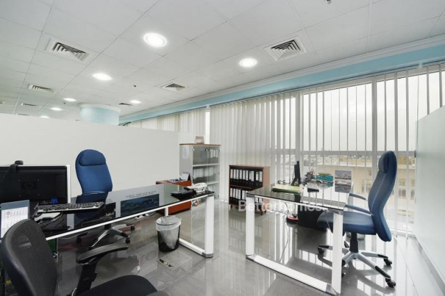 fitted, partitioned and furnished office for sale in jumeirah lake towers, swiss tower   9